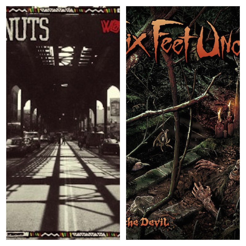 What do Deez Nuts and Six Feet Under have in common?